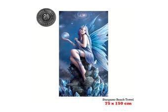 Stargazer Beach Towel 75 x 150 cm by Anne Stoke
