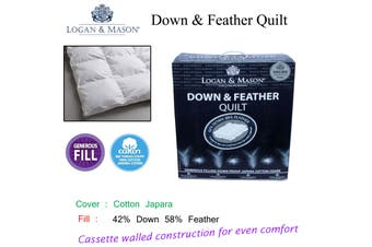 Down & Feather Quilt King