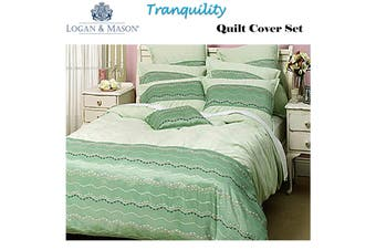 Tranquility Quilt Cover Set Double