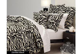 ZAMBIA Quilt Cover Set KING