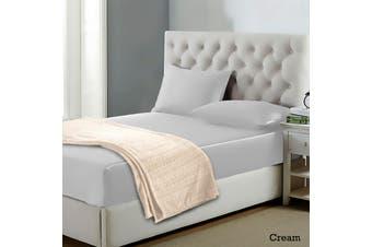 Alpine Blanket Cream Queen