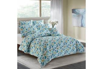 Butterfly Quilt Cover Set Double