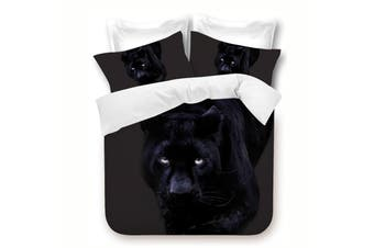 Panther Quilt Cover Set - King