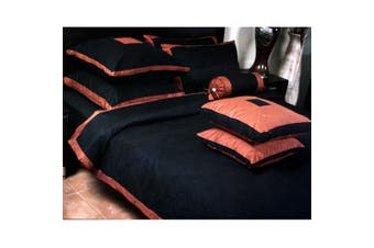 Venucci Quilt Cover Set - Double