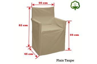 Alfresco 100% Cotton Director Chair Cover - Plain Taupe