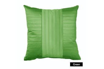 Morocco Stark Square Cushion GREEN by Rapee