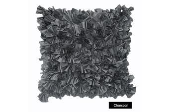Sapphire Filled Cushion CHARCOAL