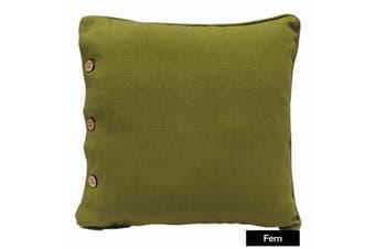 Wheel Fantasia Cushion - Fern