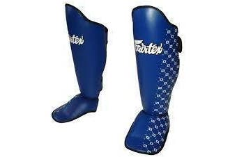 FAIRTEX - Competition Shin Guards (SP5) [Small Blue]