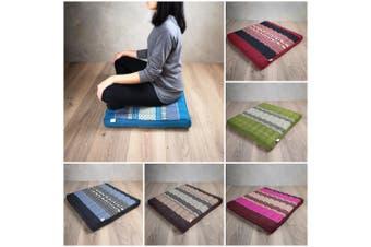 Meditation Cushion Yoga Seat Thai Kapok Floor Mat