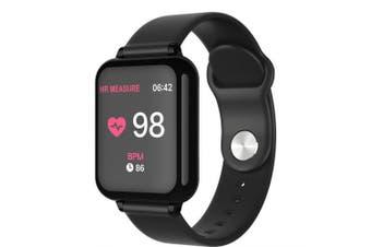 Fashion Bluetooth Smart Watch Ladies Wrist Sport Watches- Black China