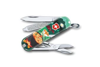 Victorinox Classic Army Swiss Knife Survival Pocket Multi Tools Swiss Mountain