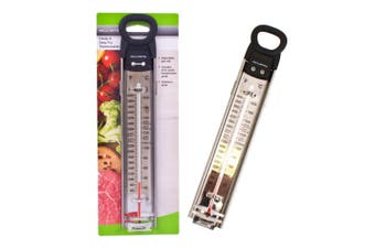 Acurite Stainless Steel Confection Candy Deep Fry Celsius Kitchen Thermometer