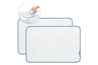 2PK Brabantia Protective Ironing Cloth Cover Press Mesh Pad Board Home - White