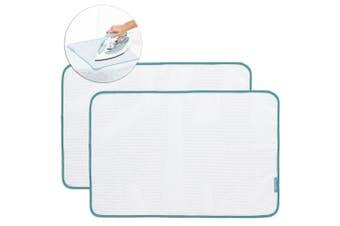 2PK Brabantia Protective Ironing Cloth Cover Press Mesh Pad Board Home - White