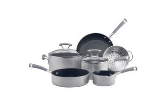 6pc Circulon Contempo Non Stick Induction Cookware Set Oven Dishwasher Safe SLV