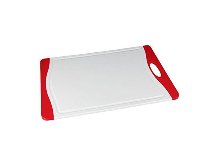 Pyrolux Cutting Board Red Kitchen Cutting Board Anti Microbial Multi Purpose