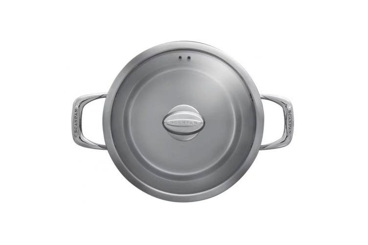 Scanpan Axis 7.2L 26cm Stainless Steel Stockpot Lid Induction Kitchen Stock Pot