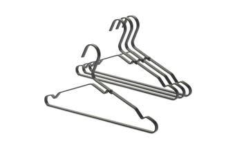 4PK Brabantia Aluminium Clothes Shirt Coat Hangers Organiser Storage Set Black