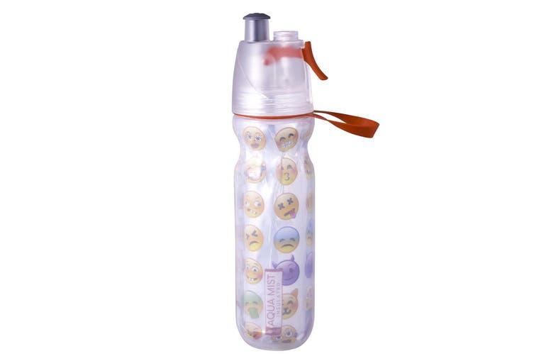 2PK Avanti RD BPA Free 550ml Cold Drink Water Bottle Mist Spray Insulated Sport