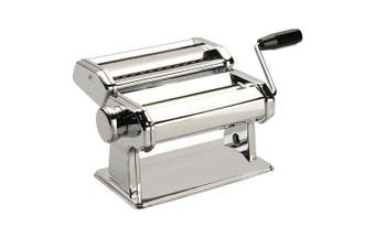 Avanti Pasta Making Machine Stainless Steel Spaghetti Fettuccine Chef Chrome