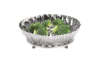 Avanti 28cm Stainless Steel Collapsible Foldable Vegetable Veggie Steamer Basket