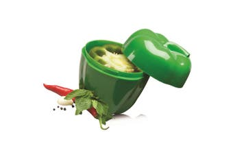 1pc Avanti Capsicum Saver Fresh Food Vegetables Fruits Home Kitchen Tool Green