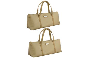 2x Avanti Wine Bottle Insulated Cooler Handbag Tote Carrier Purse Bag Champagne