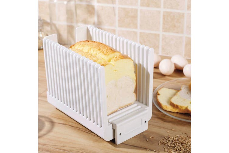 Avanti Bread Slicing Guide Loaf Toast Sandwich Guiding Cutter Slicer Kitchen