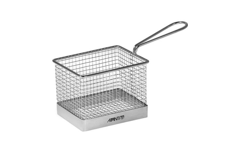 Avanti Mini Fryer Basket Kitchen Bistro Chips Serving Bowl Food Presentation