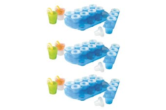 Avanti Ice Shot Glass Mould 36pk Included Stand Drinking Games Party Spirits