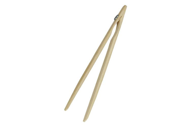 Avanti 12754 Bamboo Toast Tongs w  Magnet Utensil for Bread Crumpet Kitchen