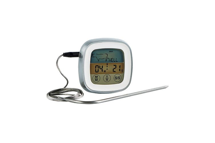 2PK Avanti Digital LCD Thermometer Meat Turkey Cooking BBQ Oven w 1M Cord Probe