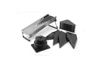 Avanti Mandolin Multi V Slicer Stainless Steel Cutter w 5 Blades Julienne Slicer