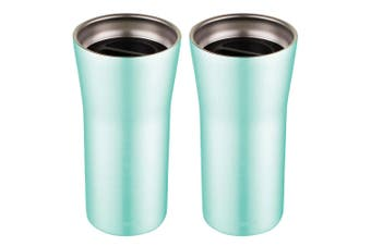 2PK Avanti 360 Gocup 335ml Stainless Steel Double Wall Insulated Tumbler Mint
