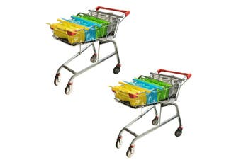 8pc Karlstert Sort & Carry Food Carrier Grocery Shopping Bags for Cart Trolley