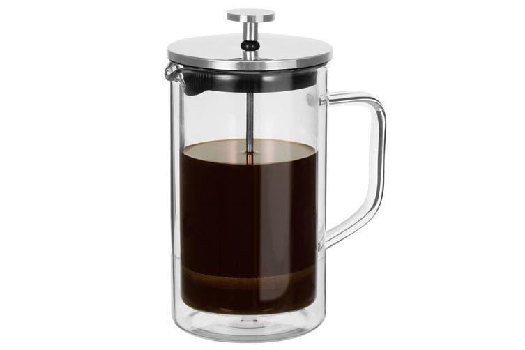 Avanti Capri 600ml Double Wall French Coffee Plunger Press Glass Maker Clear SL