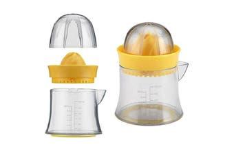 Edge Design Manual Citrus Juicer Lemon Lime Oranges Kitchen Squeezer Clear YL