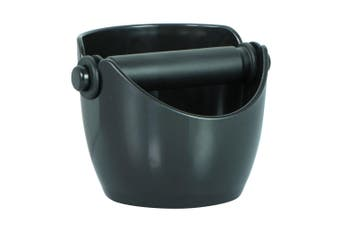 Avanti Knock Box Coffee Barista Bin Bucket Compact Anti Slip Grind Tamper Waste