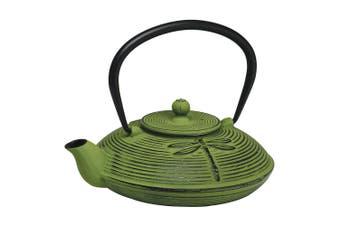 Avanti 770ml Dragon Fly Cast Iron Teapot w Removable S S Infuser Lid Tea Pot
