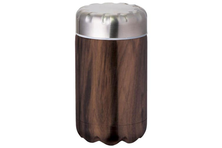 Avanti 500ml Fluid Double Wall Insulated Food Flask Stainless Steel Driftwood