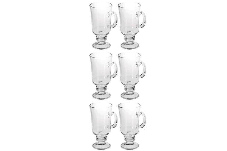 Avanti 6pc 240ml Irish Coffee Glasses Hot Cold Cup Glass Drink Dessert Wine