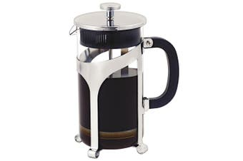 Avanti 1L 8 Cup Cafe Press Glass Coffee Plunger Glass Stainless Steel Carafe