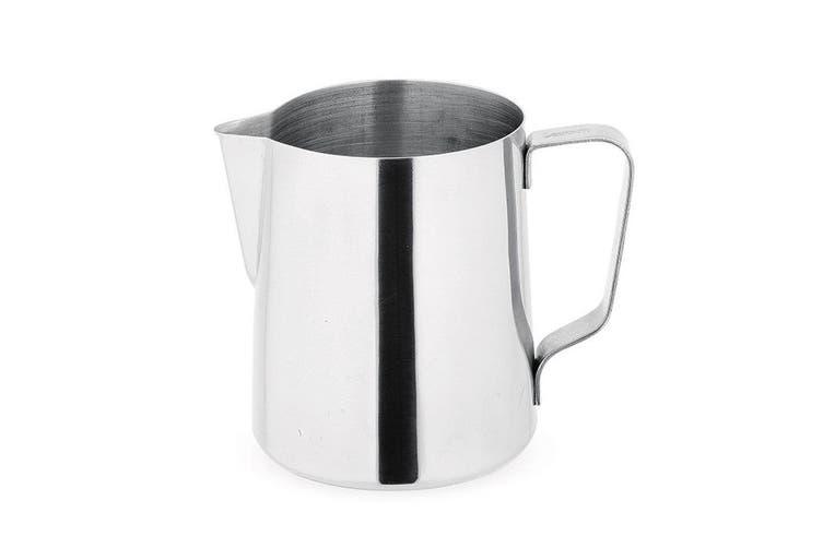 Avanti Stainless Steel 600ml Coffee Milk Jug Frothing Steaming Pitcher Tea Pot