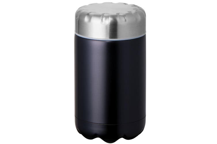 Avanti 500ml Black Cold Hot Food Soup Drink Cup Thermal Flask Stainless Steel