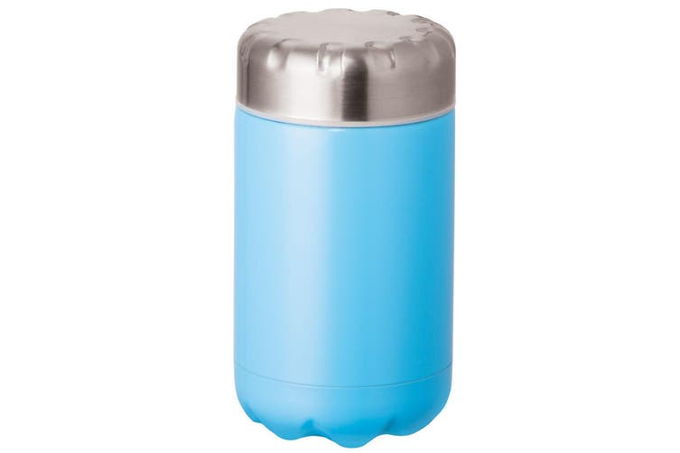 Avanti 500ml Blue Cold Hot Food Soup Drink Cup Thermal Flask Stainless Steel