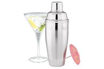 Avanti 700ml Stainless Steel Retro Cocktail Martini Mixer Bar Drink Maker Shaker