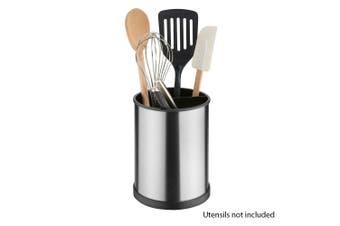Avanti Brushed Stainless Steel Rotating Utensil Holder Kitchen Organise Holder