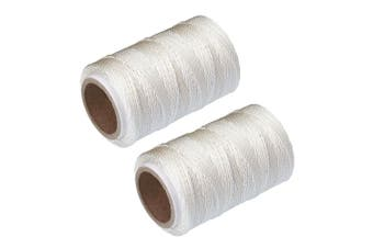 2x Avanti 60m Cotton Oven Safe Butcher Chefs Meat Food Ties Twine Cooking String
