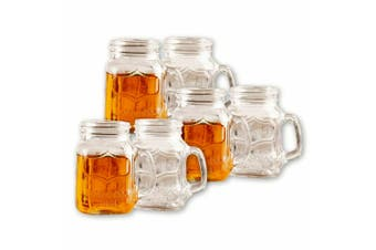 6pc Avanti Yorkshire 150ml Shot Glass Alcohol Liquor Beer Drinking Glasses Clear